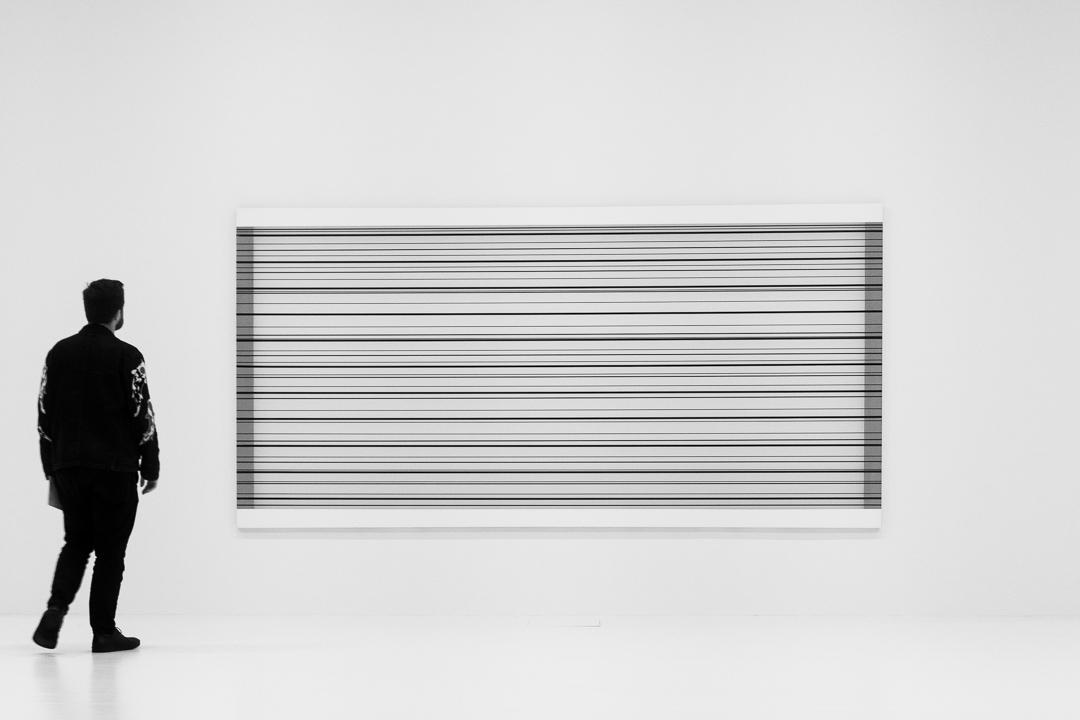 K21 Ausstellung - Minimalistisch