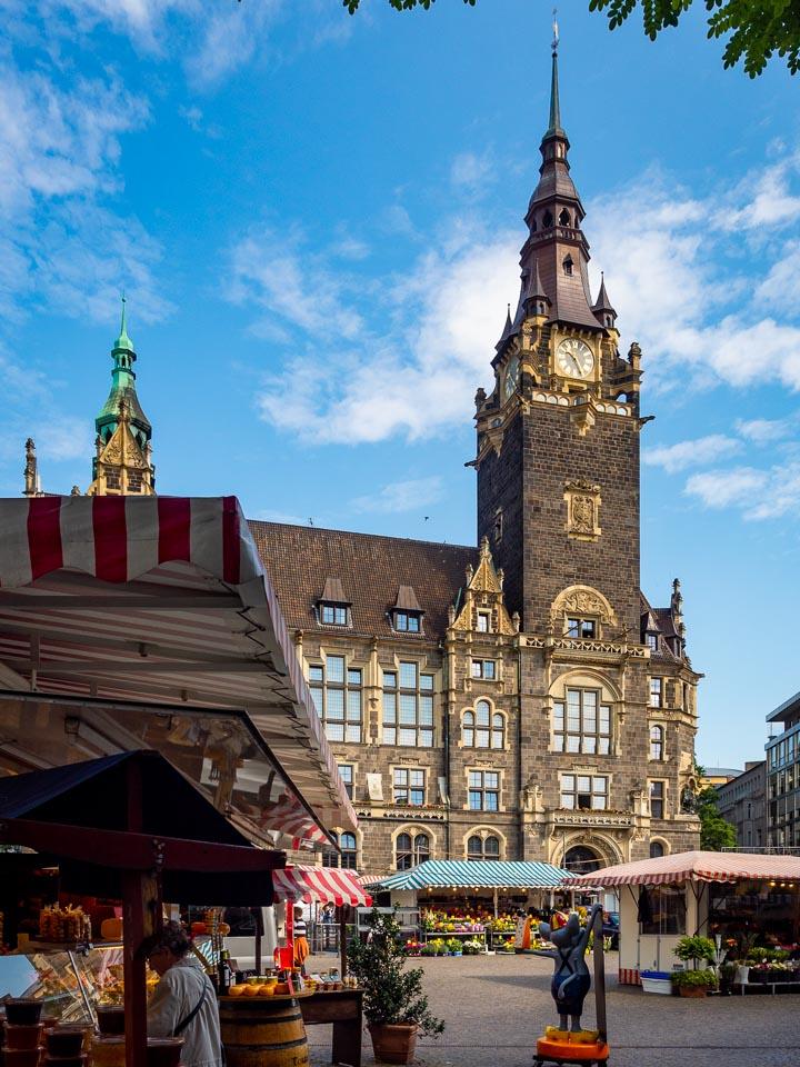 Stadtfotografie Wuppertal - Rathaus Elberfeld