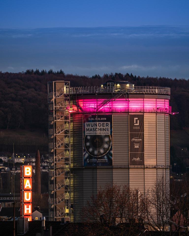 Stadtfotografie Wuppertal - Gaskessel