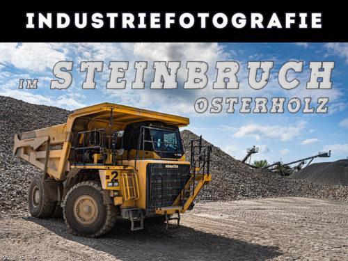 Industriefotografie im Steinbruch
